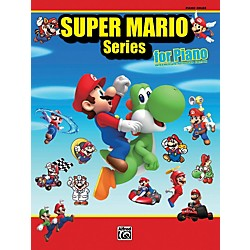 Alfred Super Mario Series for Piano Intermediate / Advanced Book (00-38600)