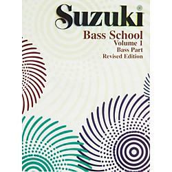 Alfred Suzuki Bass School Volume 1 (Book) (00-0370S)