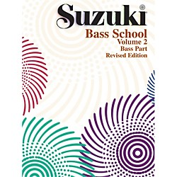 Alfred Suzuki Bass School Volume 2 (Book) (00-0371S)