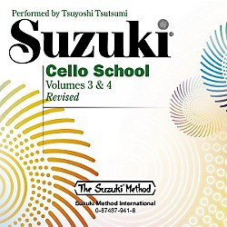 Alfred Suzuki Cello School CD, Volume 3 & 4 (00-0941)