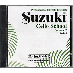 Alfred Suzuki Cello School CD, Volume 7 (00-0944)