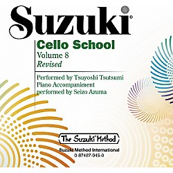 Alfred Suzuki Cello School CD, Volume 8 (00-0945)