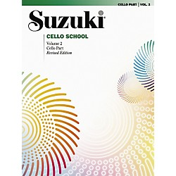 Alfred Suzuki Cello School Cello Part, Volume 2 Book (00-0481S)