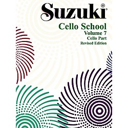 Alfred Suzuki Cello School Volume 7 (Book) (00-0360S)