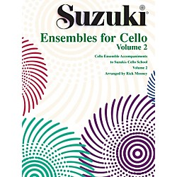 Alfred Suzuki Ensembles for Cello, Volume 2 (00-0298S)