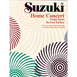 Alfred Suzuki Home Concert: Violin Part (Revised) (00-0306S)