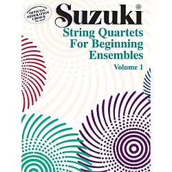 Alfred Suzuki String Quartets for Beginning Ensembles Volume 1 (Book) (00-0281S)