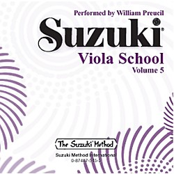 Alfred Suzuki Viola School, Volume 5 (CD) (00-0545)