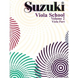 Alfred Suzuki Viola School Volume 2 (Book) (00-0242S)