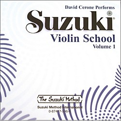 Alfred Suzuki Violin School CD, Volume 1 (Suzuki) (00-0596)