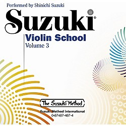 Alfred Suzuki Violin School CD, Volume 3 (00-0487)