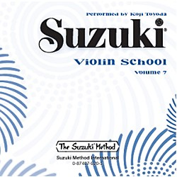 Alfred Suzuki Violin School CD, Volume 7 (00-0920)