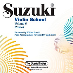 Alfred Suzuki Violin School CD Volume 6 Revised (00-39269)