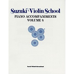 Alfred Suzuki Violin School Piano Accompaniment Volume 4 (Book) (00-0151)