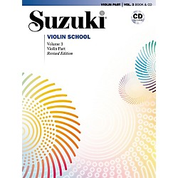 Alfred Suzuki Violin School Violin Part & CD Volume 3 (00-28265)