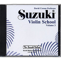Alfred Suzuki Violin School Volume 3 (CD) (00-0598)