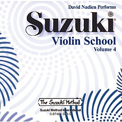 Alfred Suzuki Violin School Volume 4 (CD) (00-0349)