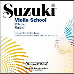 Alfred Suzuki Violin School Volume 5 Revised (CD) (00-32742)