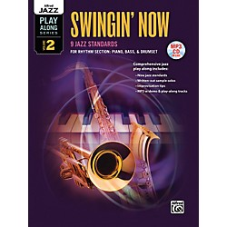 Alfred Swingin' Now Rhythm Section Book & CD (00-38725)