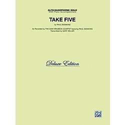 Alfred Take Five for Alto Sax The Dave Brubeck Quartet Book (00-0158TASX)