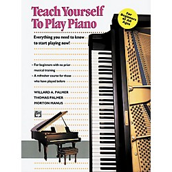 Alfred Teach Yourself Piano (Book/CD) (00-11763)