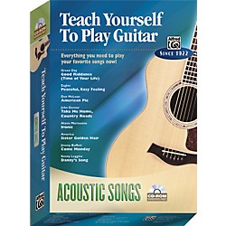 Alfred Teach Yourself To Play Guitar: Acoustic Songs (CD-ROM) (00-27818)