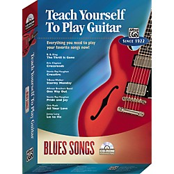 Alfred Teach Yourself To Play Guitar: Blues Songs (CD-ROM) (00-27822)
