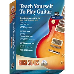 Alfred Teach Yourself To Play Guitar: Rock Songs (CD-ROM) (00-27820)