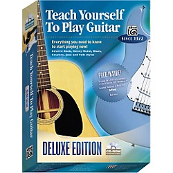 Alfred Teach Yourself To Play Guitar Deluxe Edition CD-ROM (00-21930)