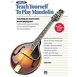 Alfred Teach Yourself To Play Mandolin Book (00-14097)
