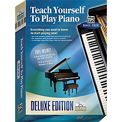 Alfred Teach Yourself To Play Piano Deluxe Edition CD-ROM (00-21932)