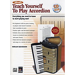 Alfred Teach Yourself to Play Accordion Book/CD (00-24412)