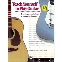Alfred Teach Yourself to Play the Guitar Book/CD (00-14104)