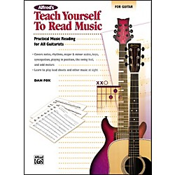 Alfred Teach Yourself to Read Music for Guitar Book (00-23217)