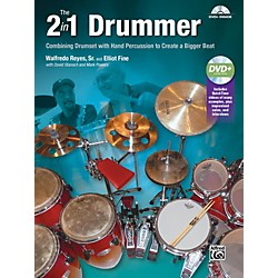 Alfred The 2-in-1 Drummer by Walfredo Reyes Sr Book & DVD (00-41451)