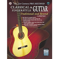 Alfred The 21st Century Pro Method: Classical & Fingerstyle Guitar Traditional & Beyond Book with CD (00-0654B)