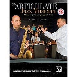 Alfred The Articulate Jazz Musician Bass Clef Instruments Book & CD (00-40597)