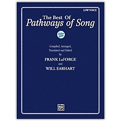 Alfred The Best of Pathways of Song Low Voice Book & CDs (00-39937)