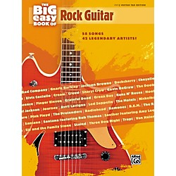 Alfred The Big Easy Book of Rock Guitar Tab (322180)