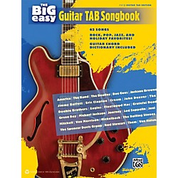 Alfred The Big Easy Guitar TAB Songbook (322382)