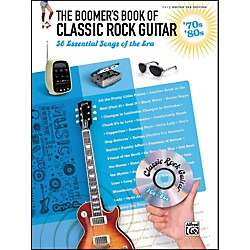 Alfred The Boomer's Book of Classic Rock Guitar '70s - '80s (322243)