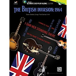 Alfred The British Invasion 1964 Ultimate Easy Guitar Play-Along (Book & DVD) (00-39458)