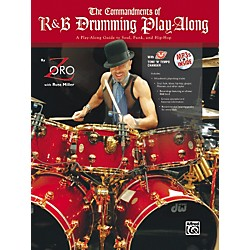 Alfred The Commandments of R&B Drumming Play-Along - by Zoro (Book/CD) (00-32444)