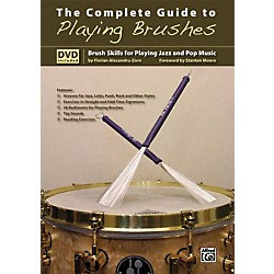 Alfred The Complete Guide to Playing Brushes Book & DVD (00-20134US)