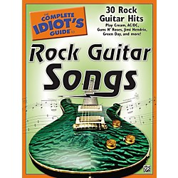 Alfred The Complete Idiot's Guide To Rock Guitar Songs Book (00-27756)