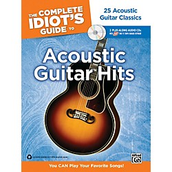 Alfred The Complete Idiot's Guide to Acoustic Guitar Hits Tab Book/ 2 CDs (00-34432)