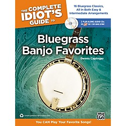 Alfred The Complete Idiot's Guide to Bluegrass Banjo Favorites Book & 2 CDs (00-34495)