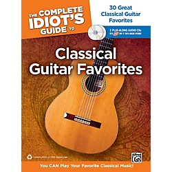 Alfred The Complete Idiot's Guide to Classical Guitar Favorites Book/2 CDs (00-34639)