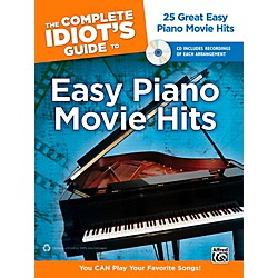 Alfred The Complete Idiot's Guide to Easy Piano Movie Hits Book & CD (00-39585)