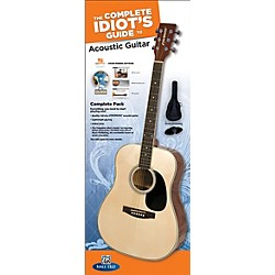 Alfred The Complete Idiot's Guide to Learning Guitar Acoustic Guitar Complete Pack (00-37375)